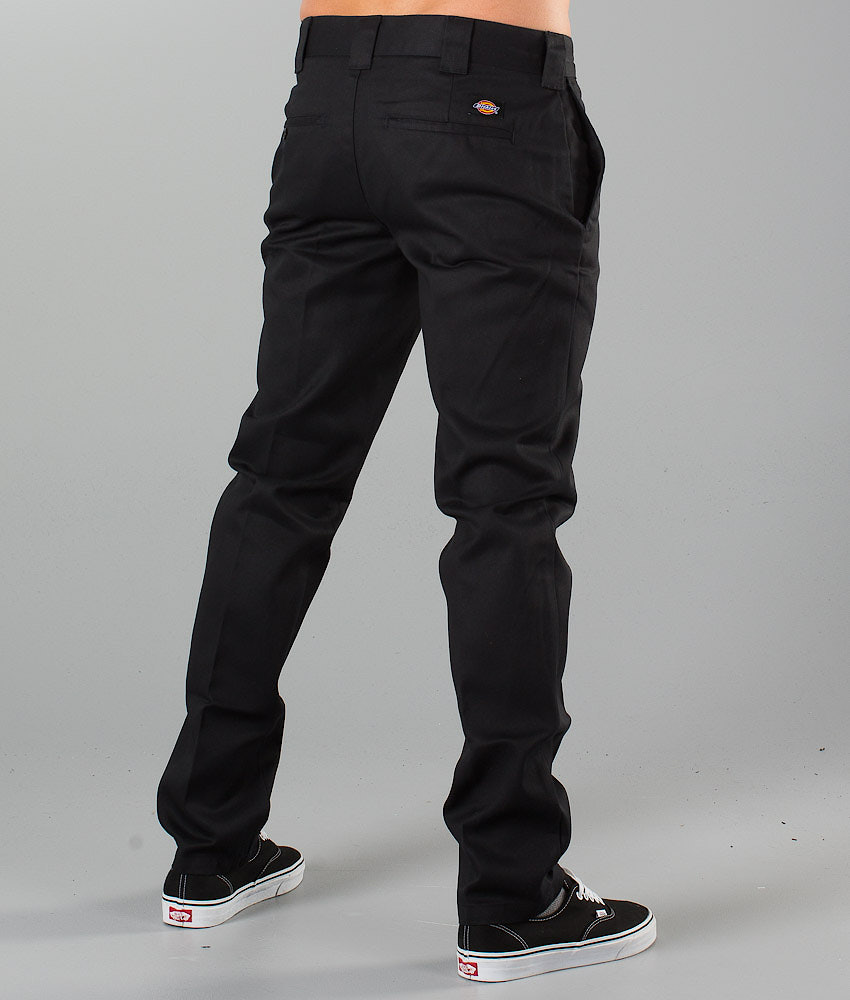 Dickies Slim Fit Work Pant Housut Black