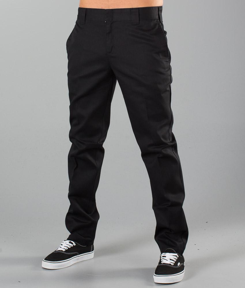 Dickies Slim Fit Work Pant Pants Black