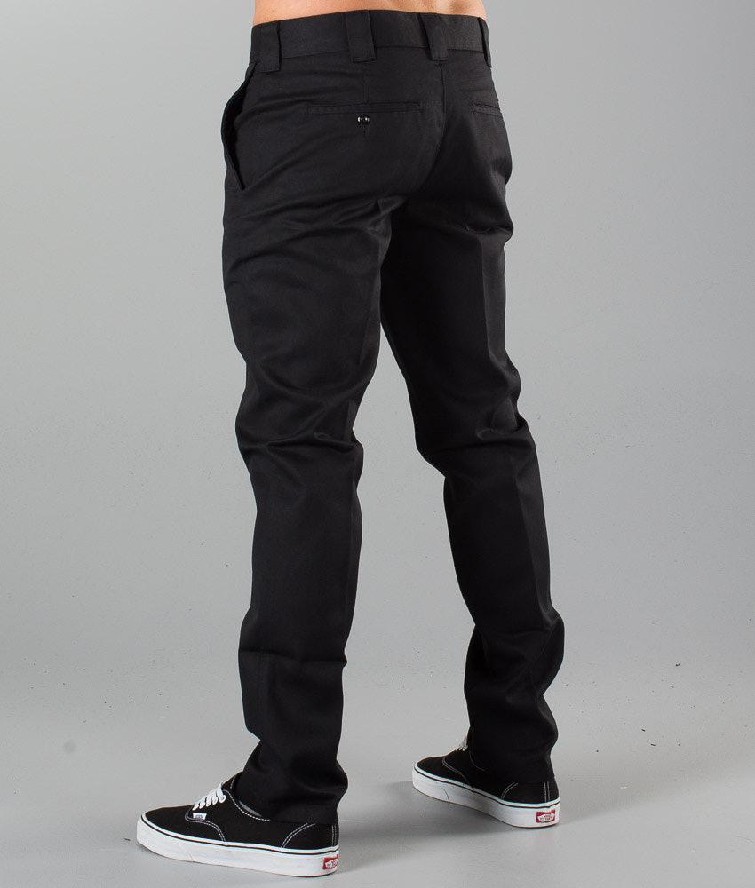 cad110976c5 Dickies Slim Fit Work Pant Pants Black - Ridestore.com