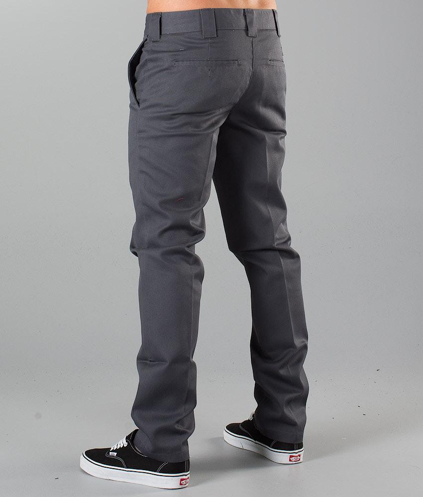 a0bf323de50f8 Dickies Slim Fit Work Pant Pants Charcoal Grey