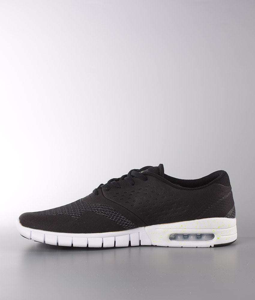 hot sale online 595a2 cd29d Nike Eric Koston 2 Max Shoes Black/Flash Lime-White - Ridestore.com