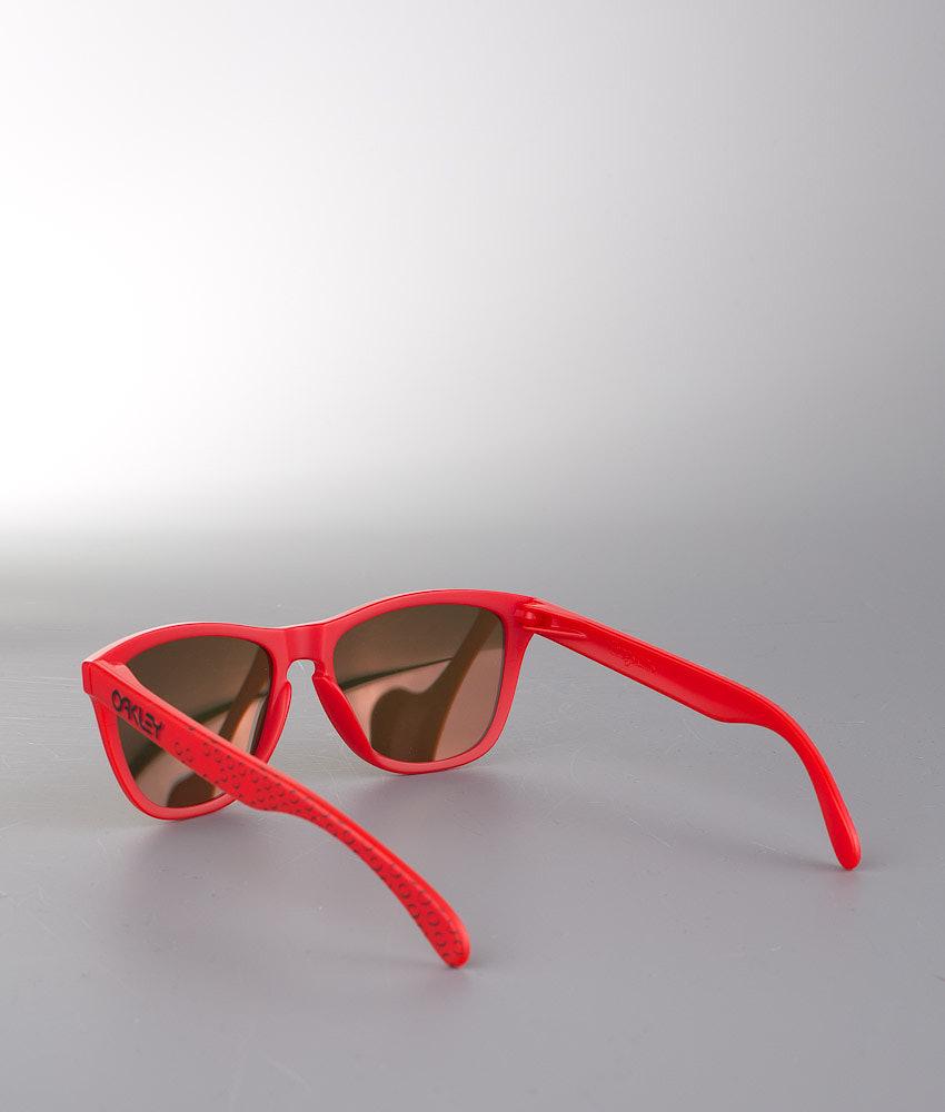 8581faa311 Oakley Frogskins Sunglasses Matte Red w Fire Iridium - Ridestore.com