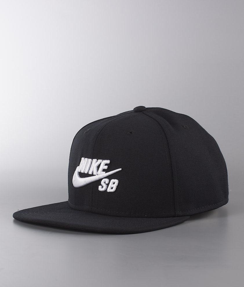 Nike Pro Caps Black/Black/Black/White