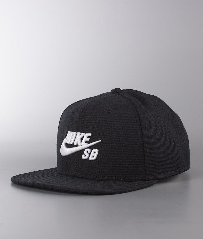 Nike Pro Lippis Black/Black/Black/White