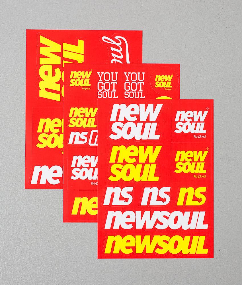 Newsoul Sticker Pack Klistemerker Multi