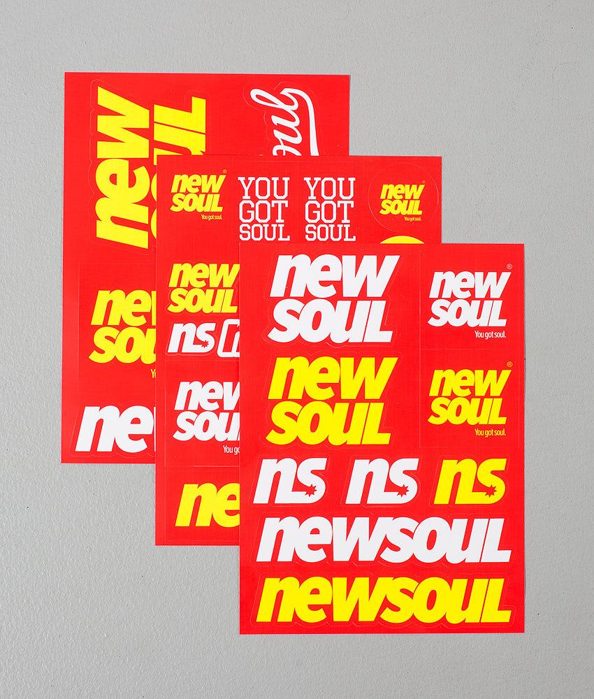 Kjøp Sticker Pack Klistemerker fra Newsoul på Ridestore.no - Hos oss har du alltid fri frakt, fri retur og 30 dagers åpent kjøp!