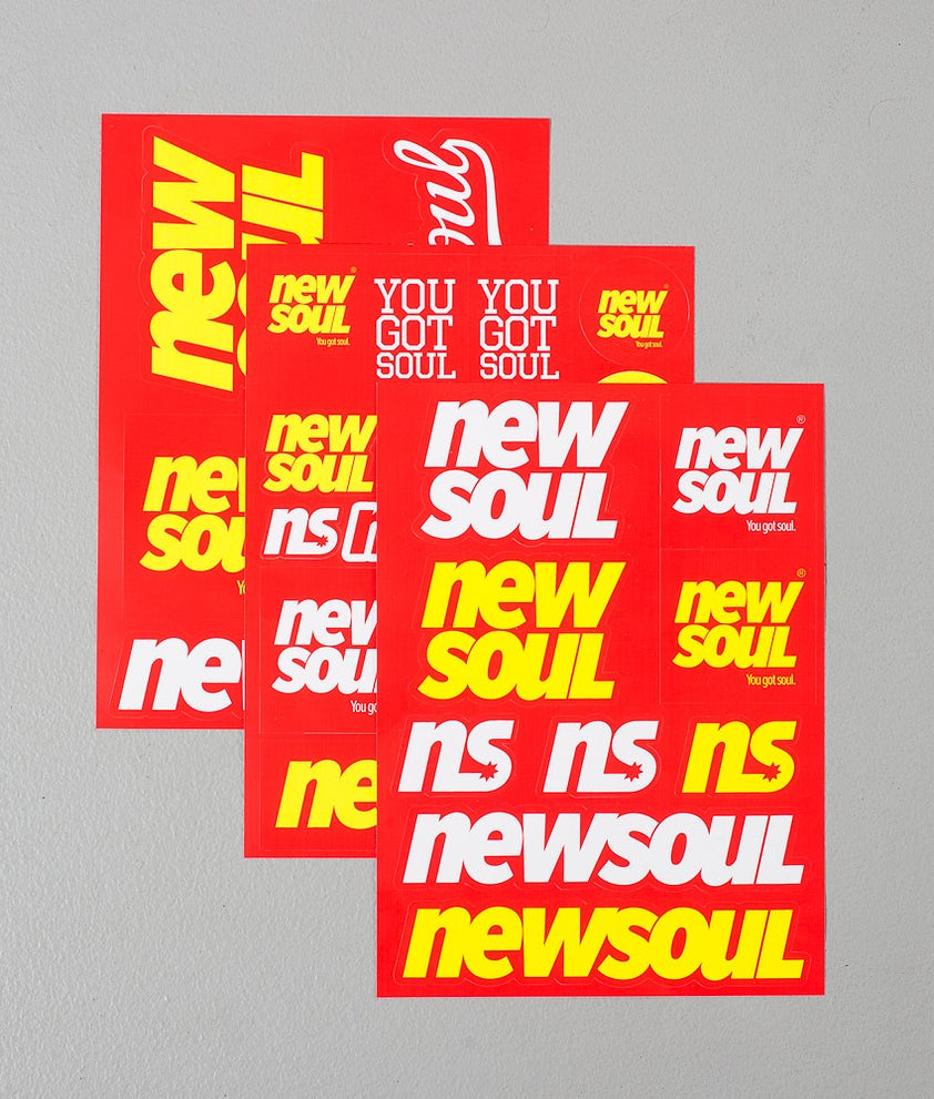 Newsoul Sticker Pack Aufkleber Multi