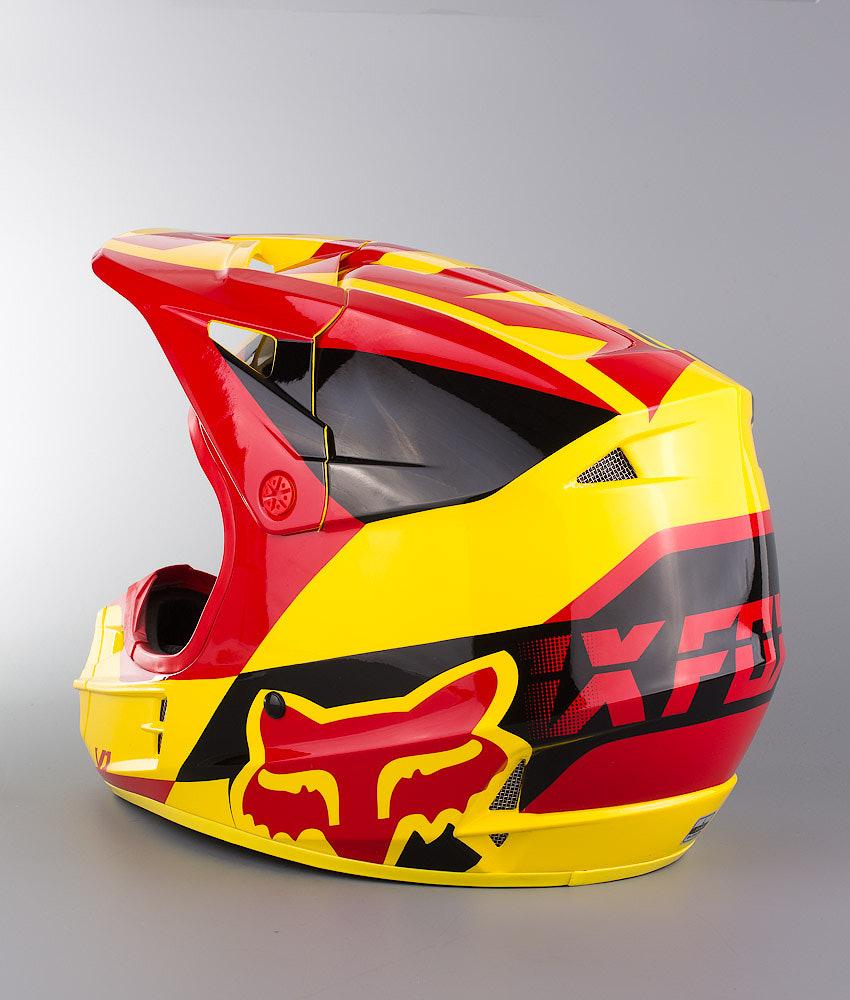 b56c3c83e Fox V1 Mako MX Helmet Yellow - Ridestore.com