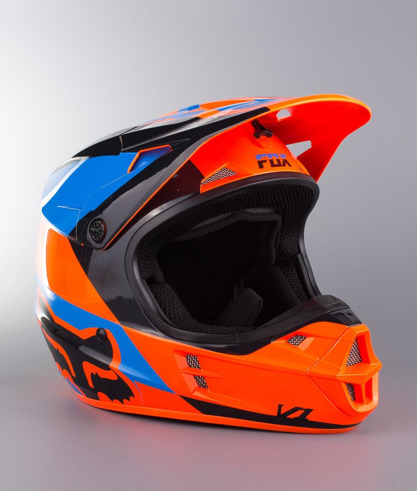 e09714f7f Fox V1 Mako MX Helmet Orange - Ridestore.com