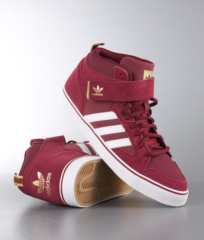 Adidas Originals Varial II Mid Shoes Collegiate Burgundy Ftwr White ... c4855a16b56