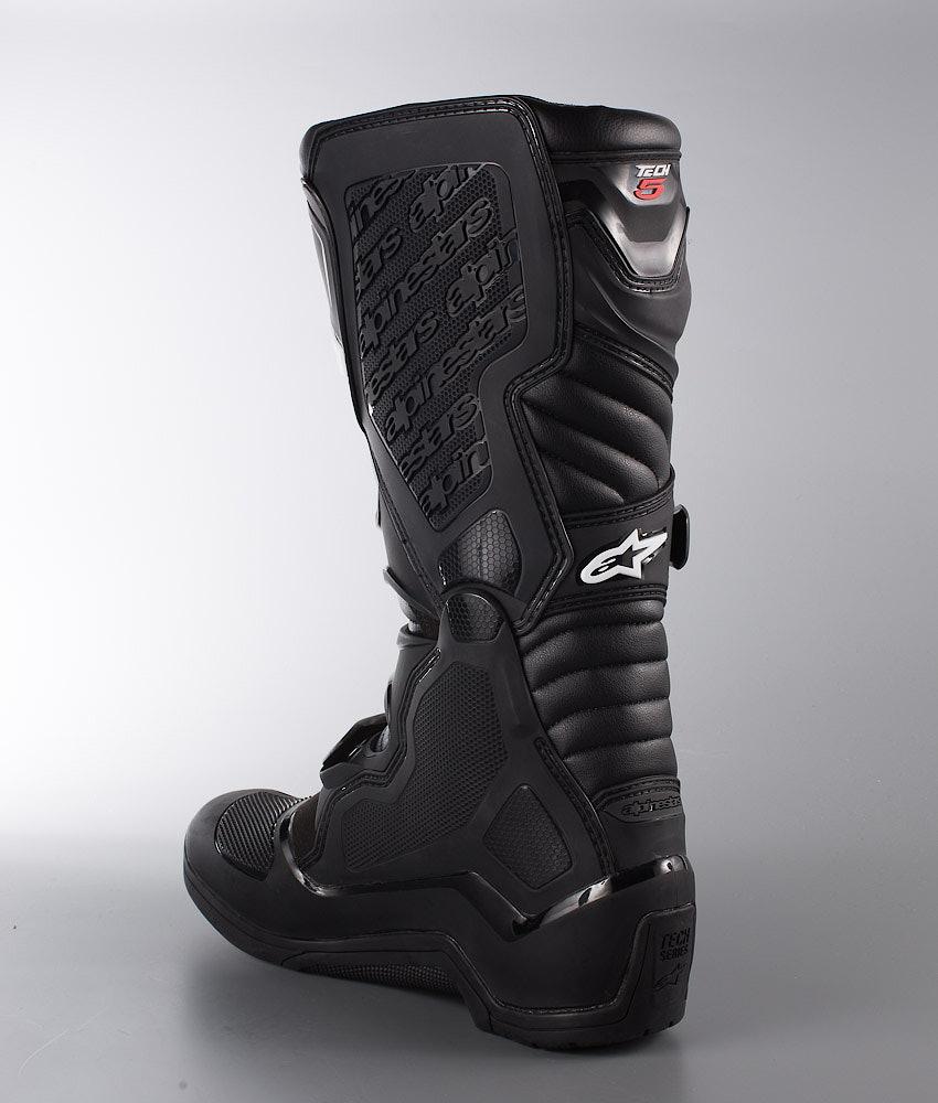 54dc94f37c05 Alpinestars Tech 5 MX Boots Black - Ridestore.com