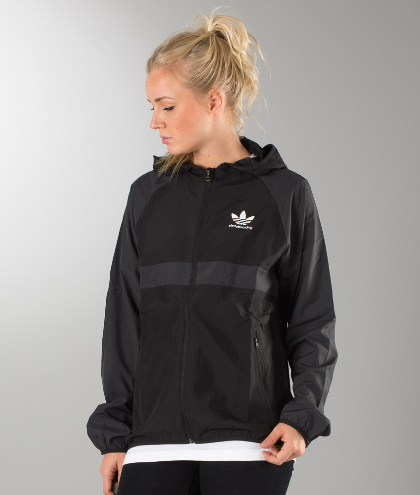 Adidas Originals ADV Wind Jacket Unisex Jakke BlackCarbon S14