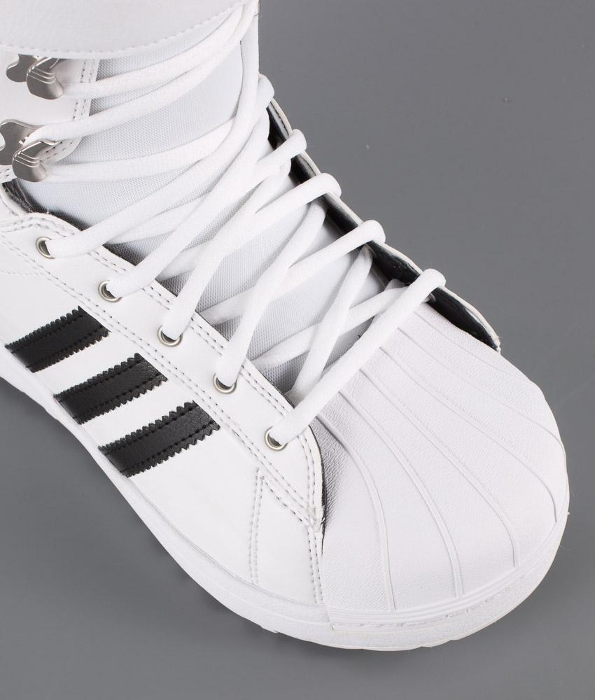 Adidas originali della superstar ftwr gli stivali bianchi / nucleo nero / oro