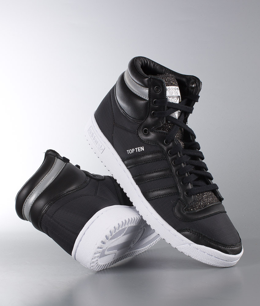 newest collection 55f99 b0c4f Adidas Originals Top Ten Hi Winterized Shoes