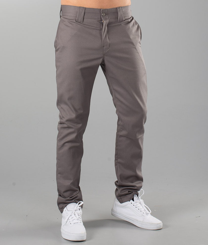 Dickies Slim Skinny Pant Pants Gravel Grey