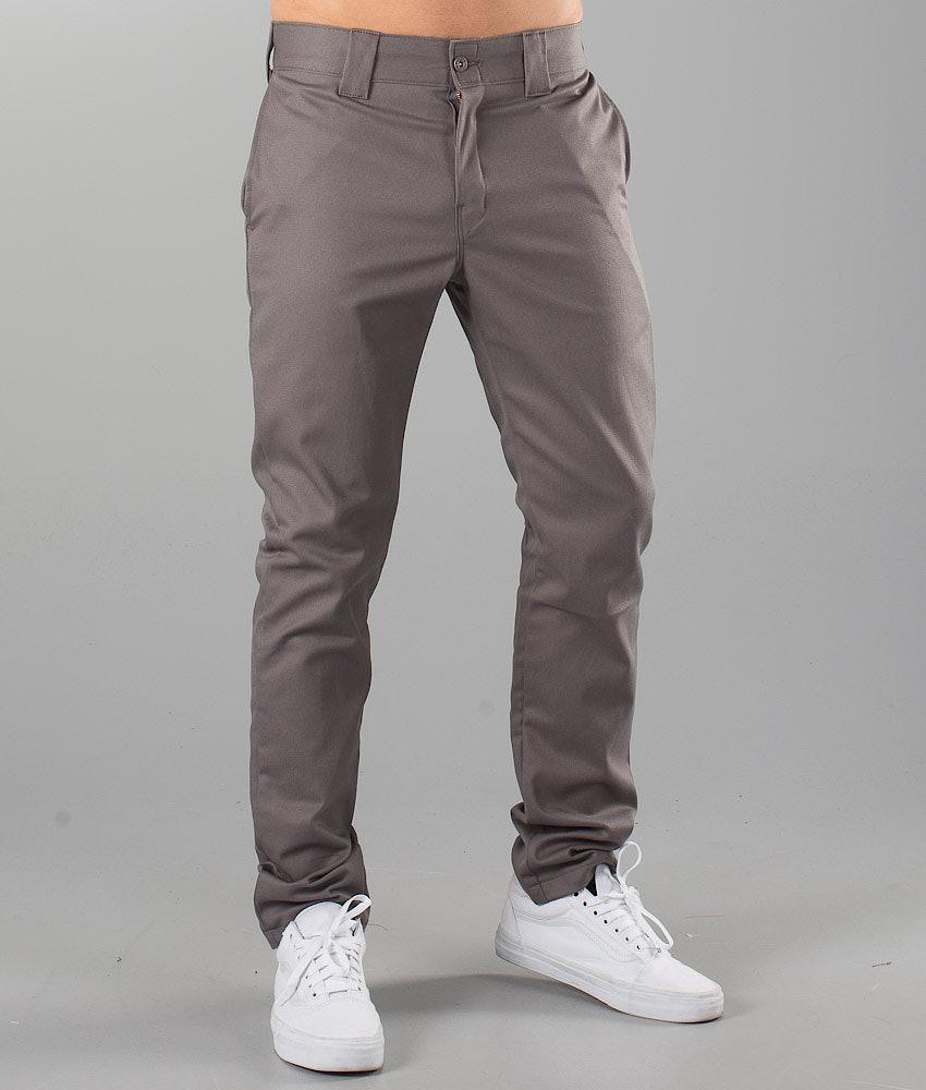 Dickies Slim Skinny Pant Housut Gravel Grey