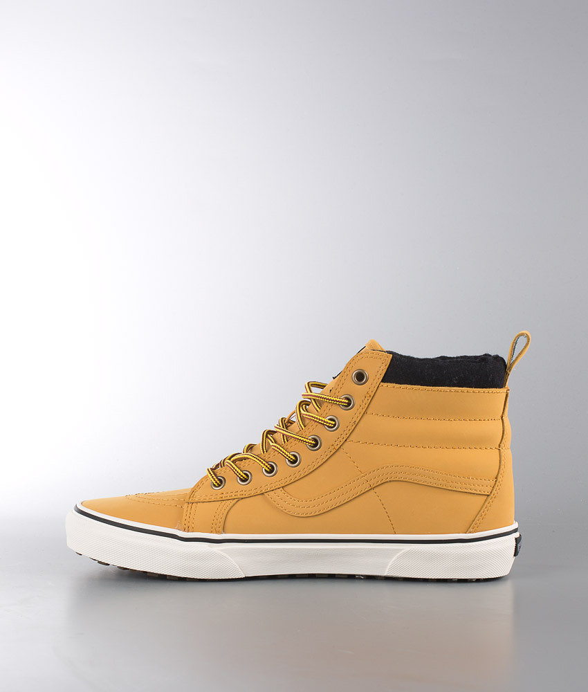 d8439cbfdba Vans Sk8-HI MTE Shoes (Mte) Honey Leather - Ridestore.com