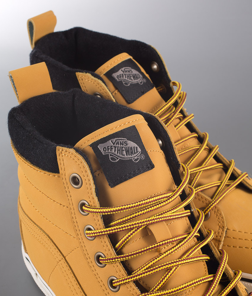 77feb1b4590f49 Vans Sk8-HI MTE Shoes (Mte) Honey Leather - Ridestore.com