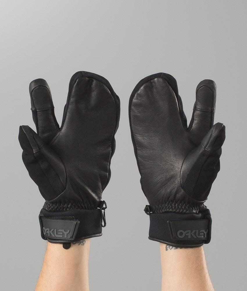 8357a1a1e9d0e Oakley Factory Winter Trigger Mitt 2 Ski Gloves Jet Black ...