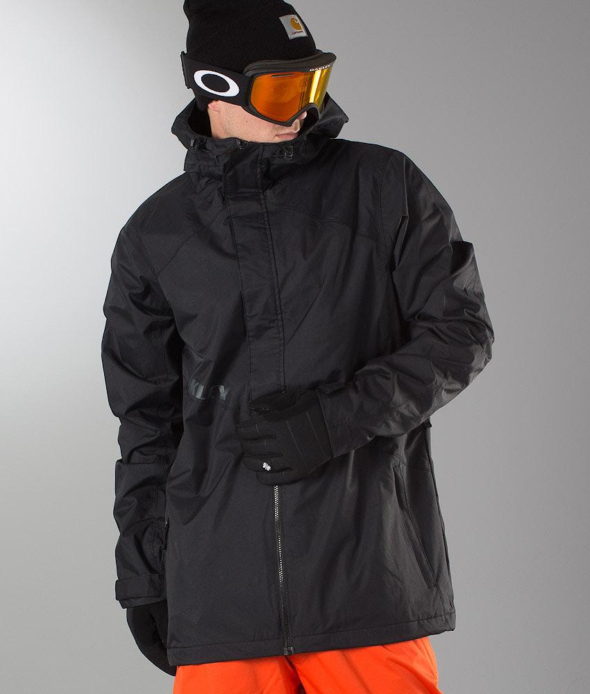 f475fbd256 Oakley Jigsaw Biozone Shell Snowboard Jacket Jet Black - Ridestore.com