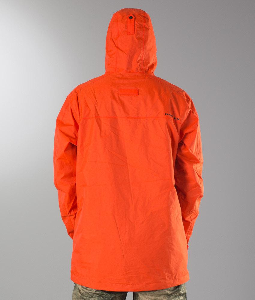 e0dd2ca43b Oakley Jigsaw Biozone Shell Snowboard Jacket Flare Orange ...