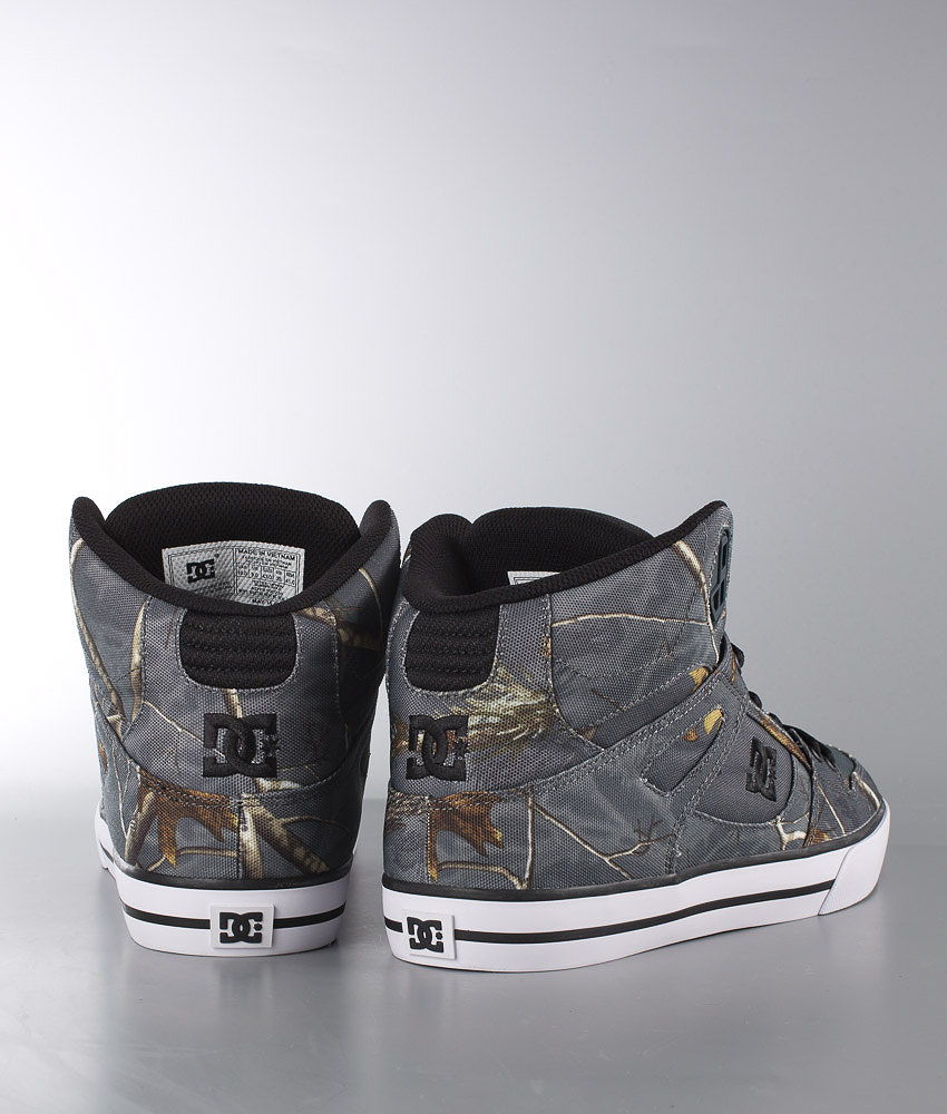 0fdc77aa9447e DC Spartan High WC Shoes Realtree Grey - Ridestore.com