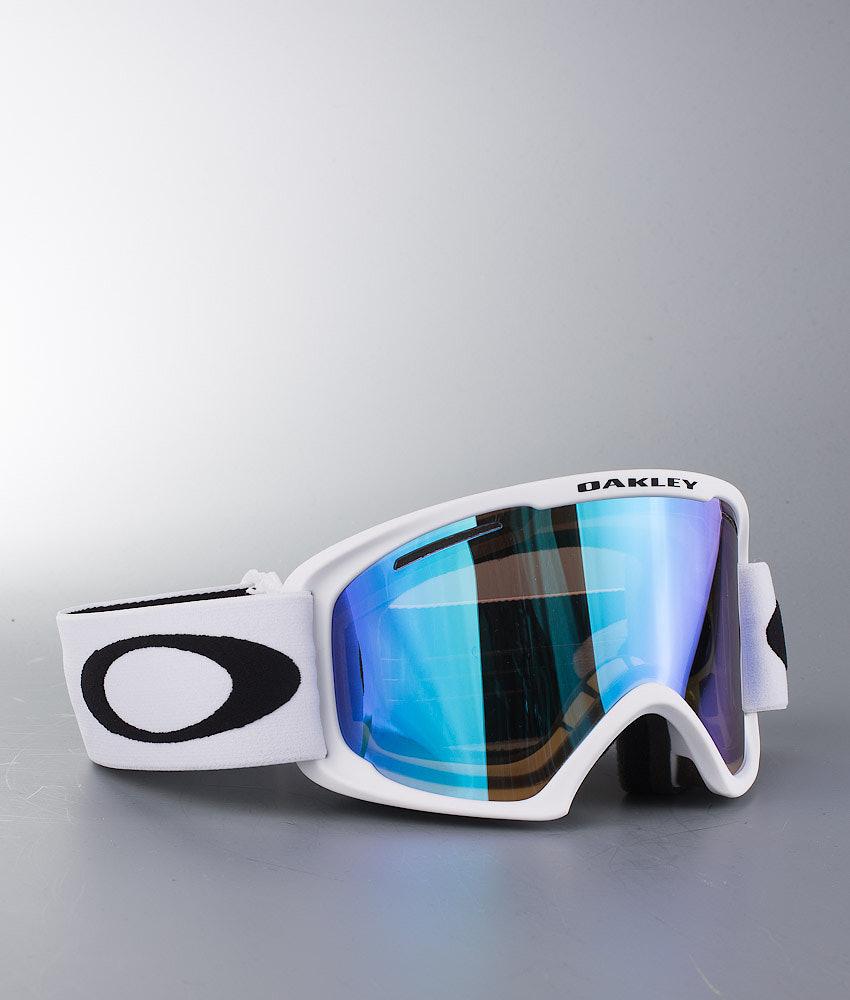 99e24e67082 Oakley O2 XL Ski Goggle Matte White W Violet Irid - Ridestore.com