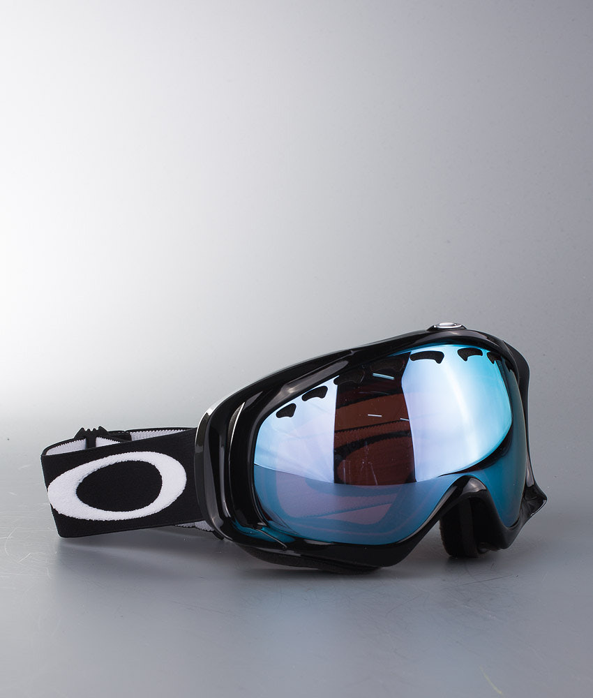 4dce25ad354a Oakley Crowbar Ski Goggle Jet Black w Prizm Sapphire Iridium ...