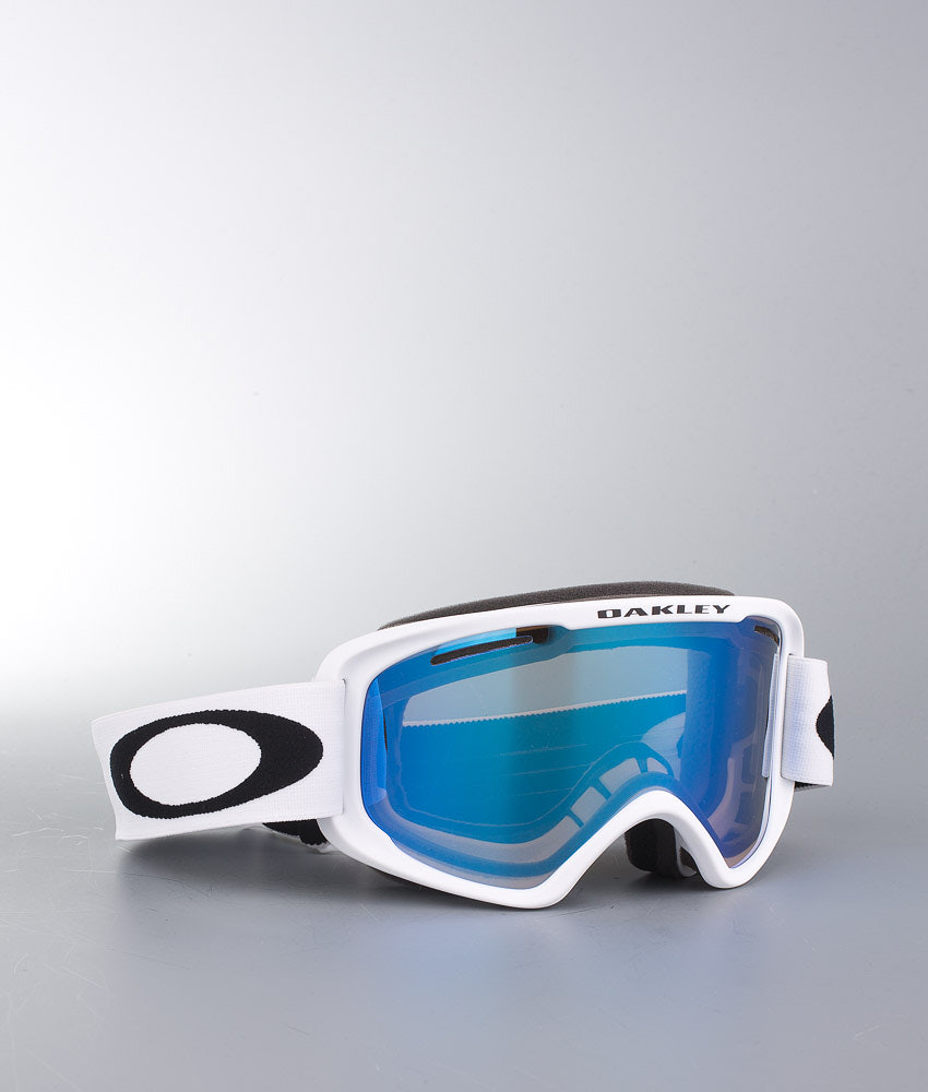5e05196ab00 Oakley O2 XM Ski Goggle Matte White w Violet Iridium - Ridestore.com