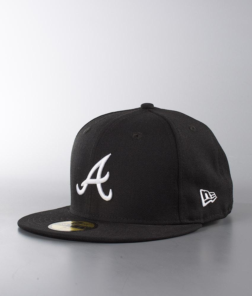 New Era Mlb Basic Cap Atlanta Braves - Black - Ridestore.com d7114fa0e991