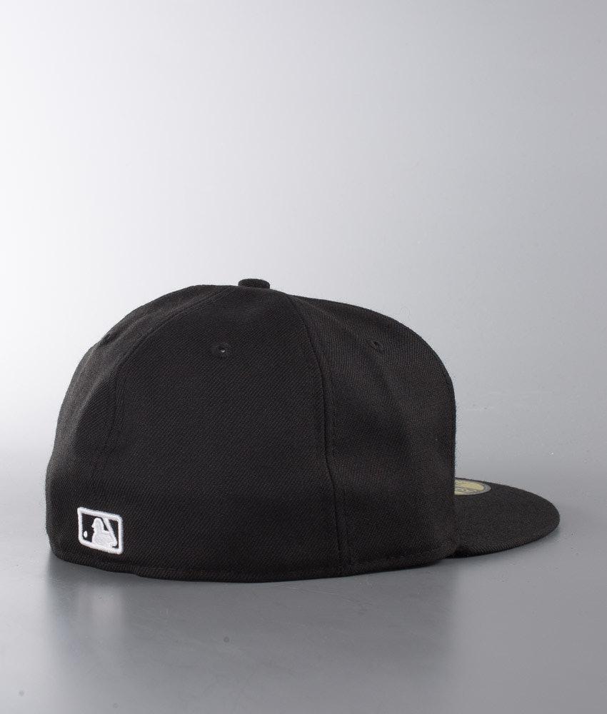 New Era Mlb Basic Lippis New York Yankees - Black White - Ridestore.fi eac5a3f946