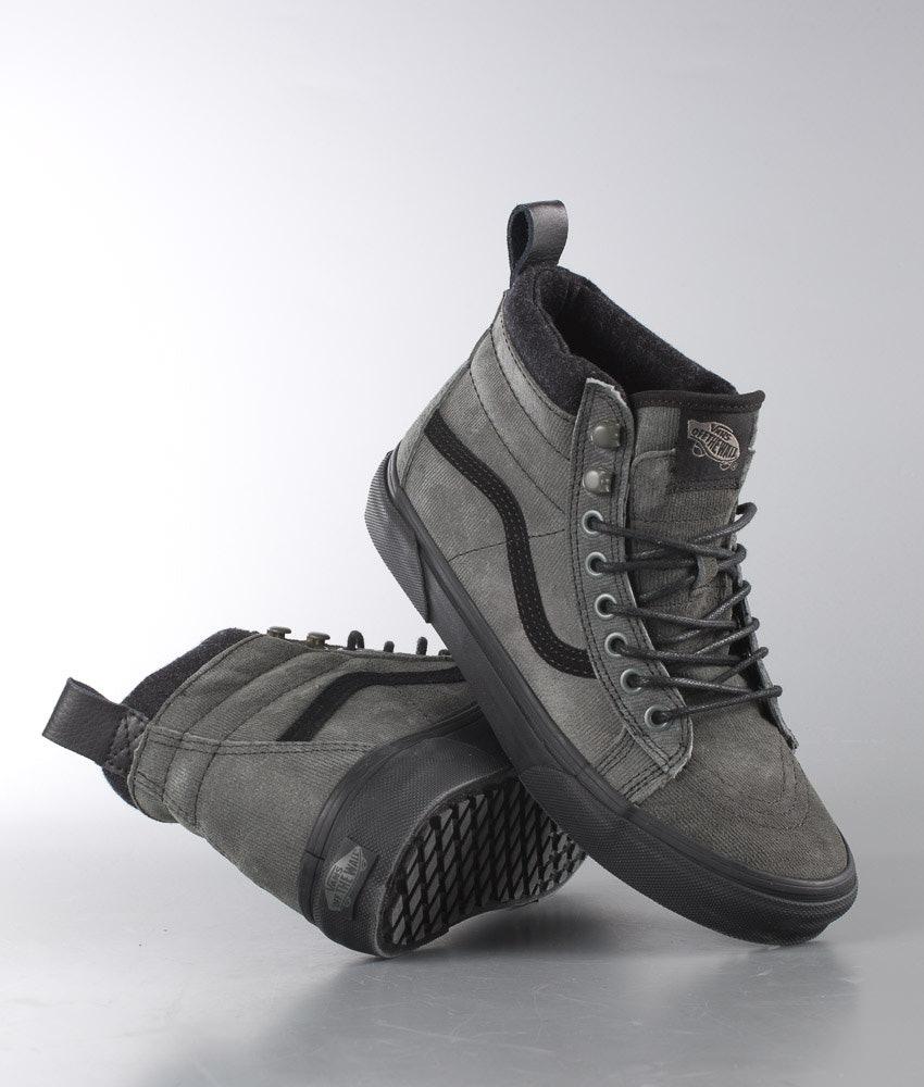 Vans Sk8-Hi MTE Shoes Denim Suede - Ridestore.com 4c58acd591389