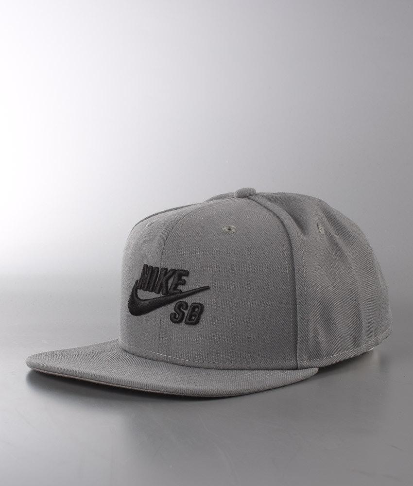 075e243e706a Nike Sb Icon Pro Cap Tumbled Grey Black Tumbled Grey Black ...