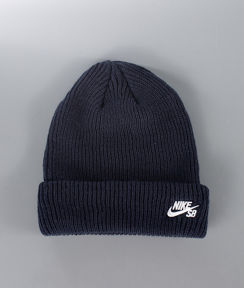 outlet store dc5aa 11929 Nike Sb Fisherman Beanie Blue
