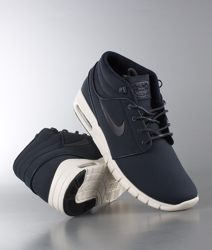newest collection ee52e bce33 Nike Stefan Janoski Max Mid L Shoes Blue