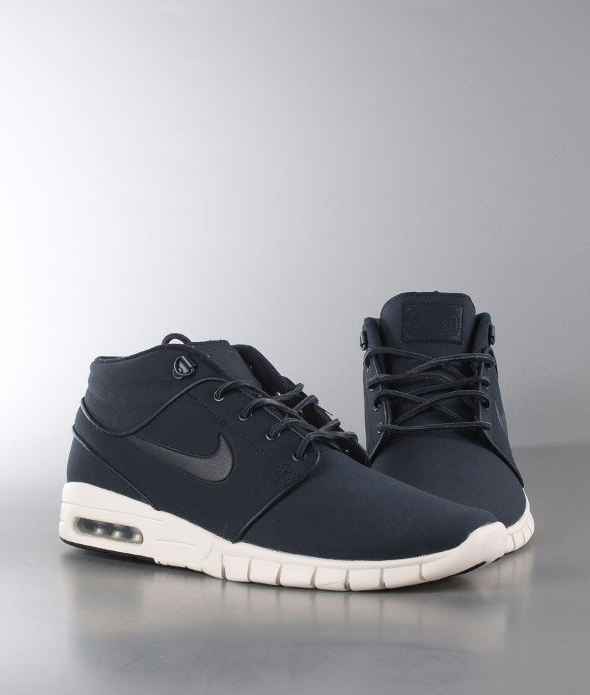 04ec8631d6e Nike Stefan Janoski Max Mid L Shoes Dark Obsidian Dark Obsidian ...