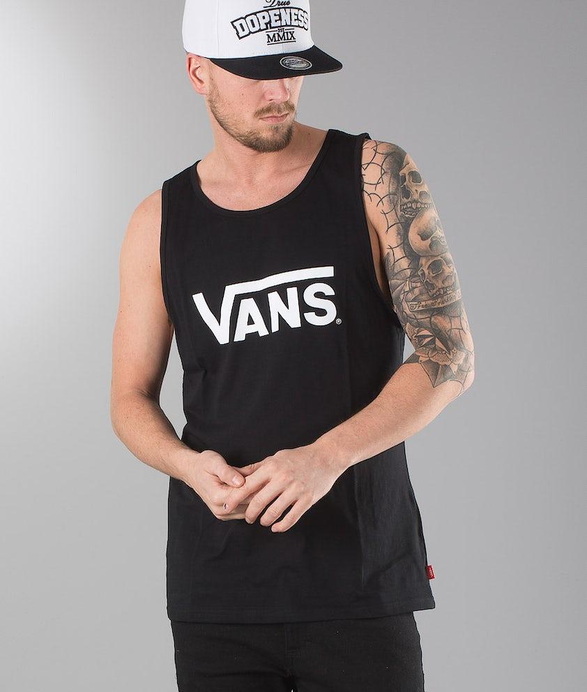 Vans Classic Tank Singlet Black/White