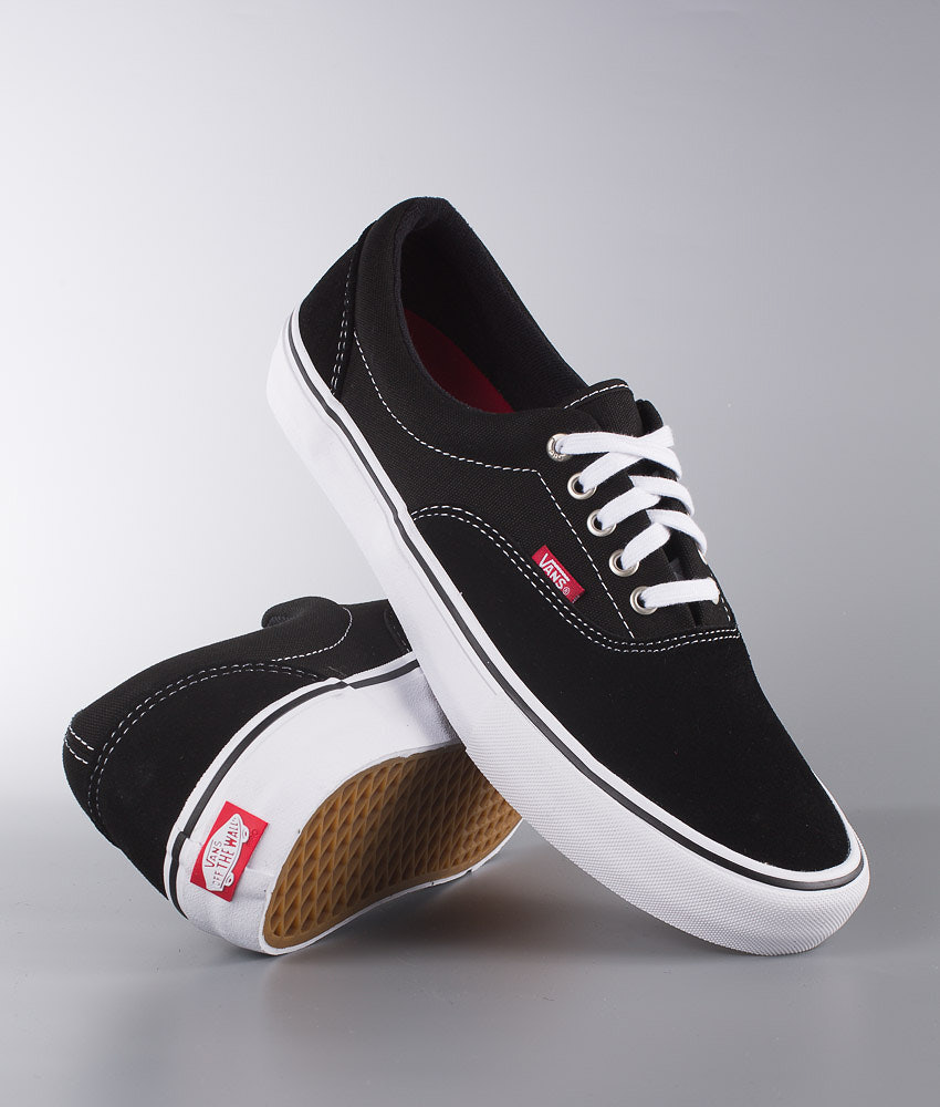 891e75756d Vans Era Pro Shoes Black White Gum - Ridestore.com