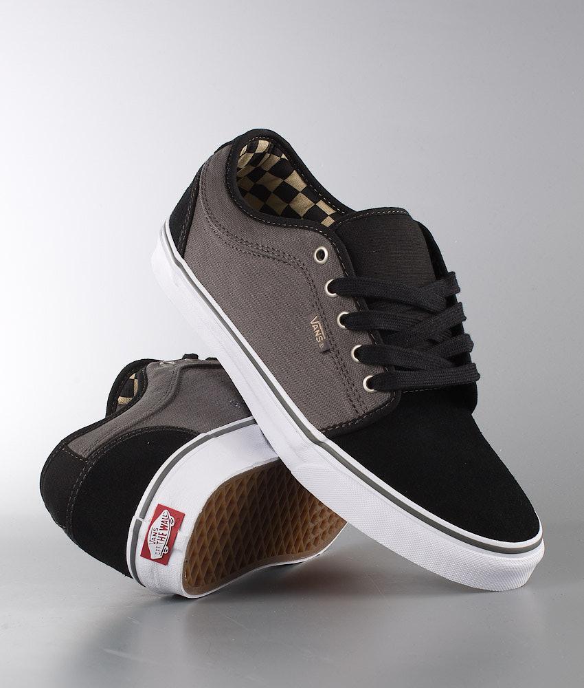 Vans Chukka Low Shoes (Herringbone) Black Pewter - Ridestore.com 194d5c598