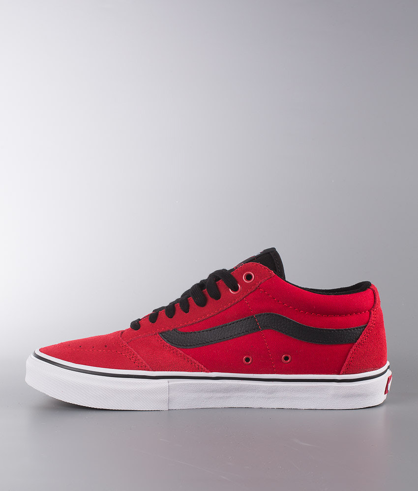 5235f4f070 Vans TNT SG Shoes Bright Red Black White - Ridestore.com