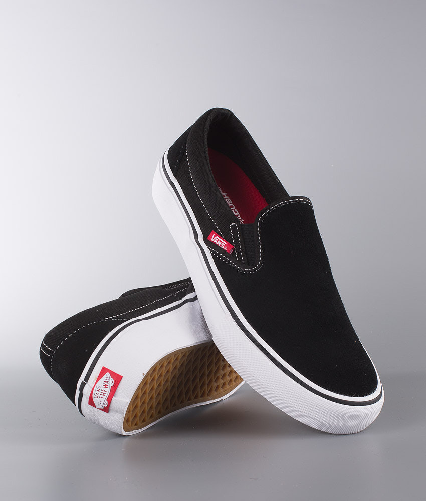 c7cdd0f7f030 Vans Slip-On Pro Shoes Black White Gum - Ridestore.com