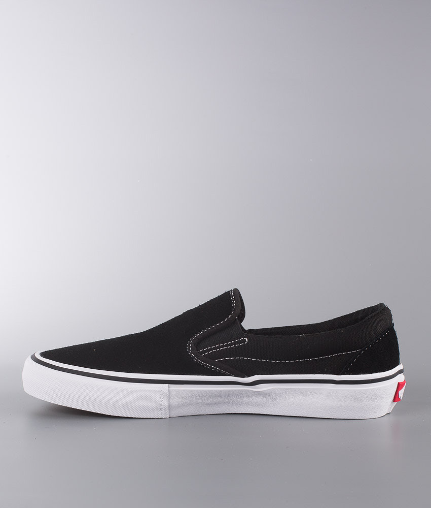 4c1511d9f8 Vans Slip-On Pro Shoes Black White Gum - Ridestore.com