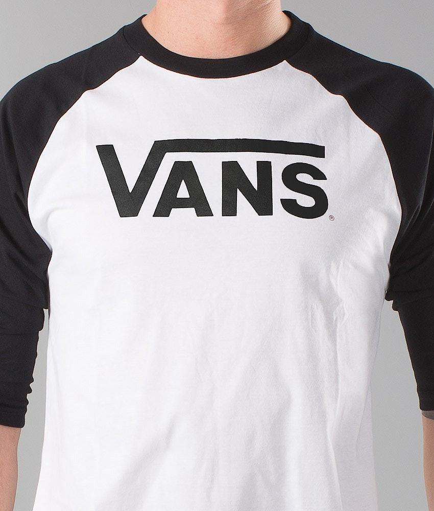 Vans Classic Raglan Longsleeve White/Black