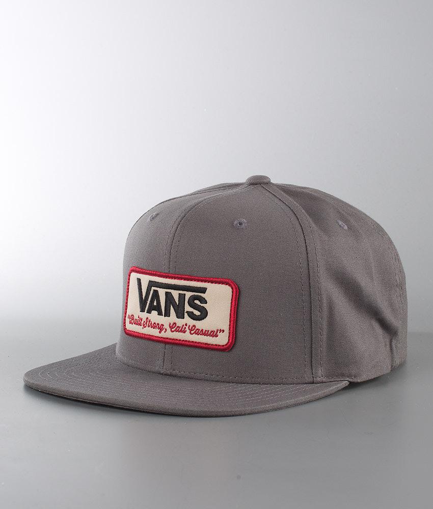Vans Rowley Cap Grey - Ridestore.com 75f2dbc09b51