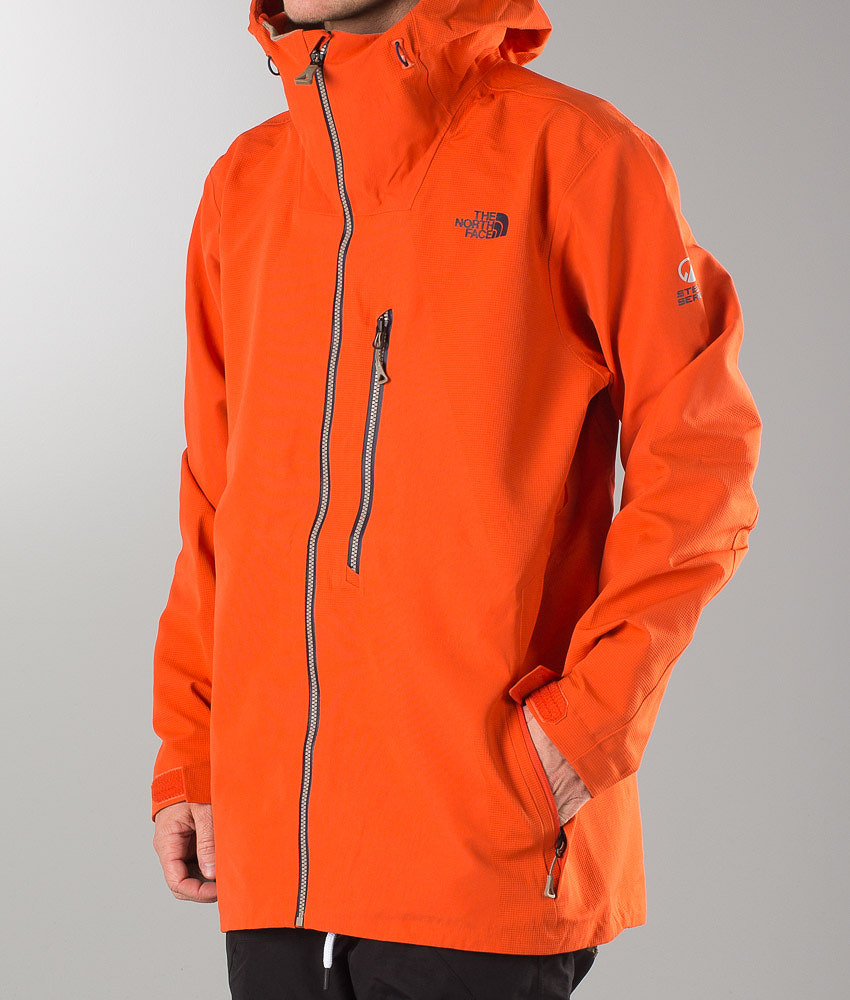 The North Face Fuse Brigandine 3L Giacca da snowboard Zion Orange ... b1bd6cf94900