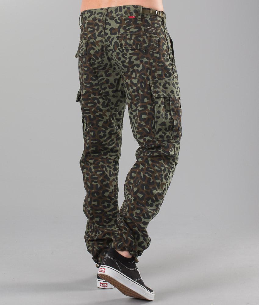 Print Olive Pantaloni it Burnt Skate Cargo Ridestore RIwOqq