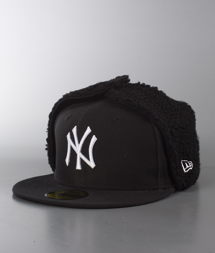 79701f52f9c34 New Era Basic Dogear Cap New York Yankees - Black White - Ridestore.com