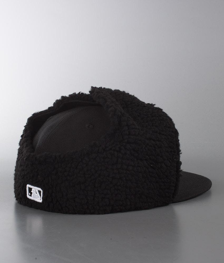 9b712200937 New Era Basic Dogear Cap New York Yankees - Black White - Ridestore.de