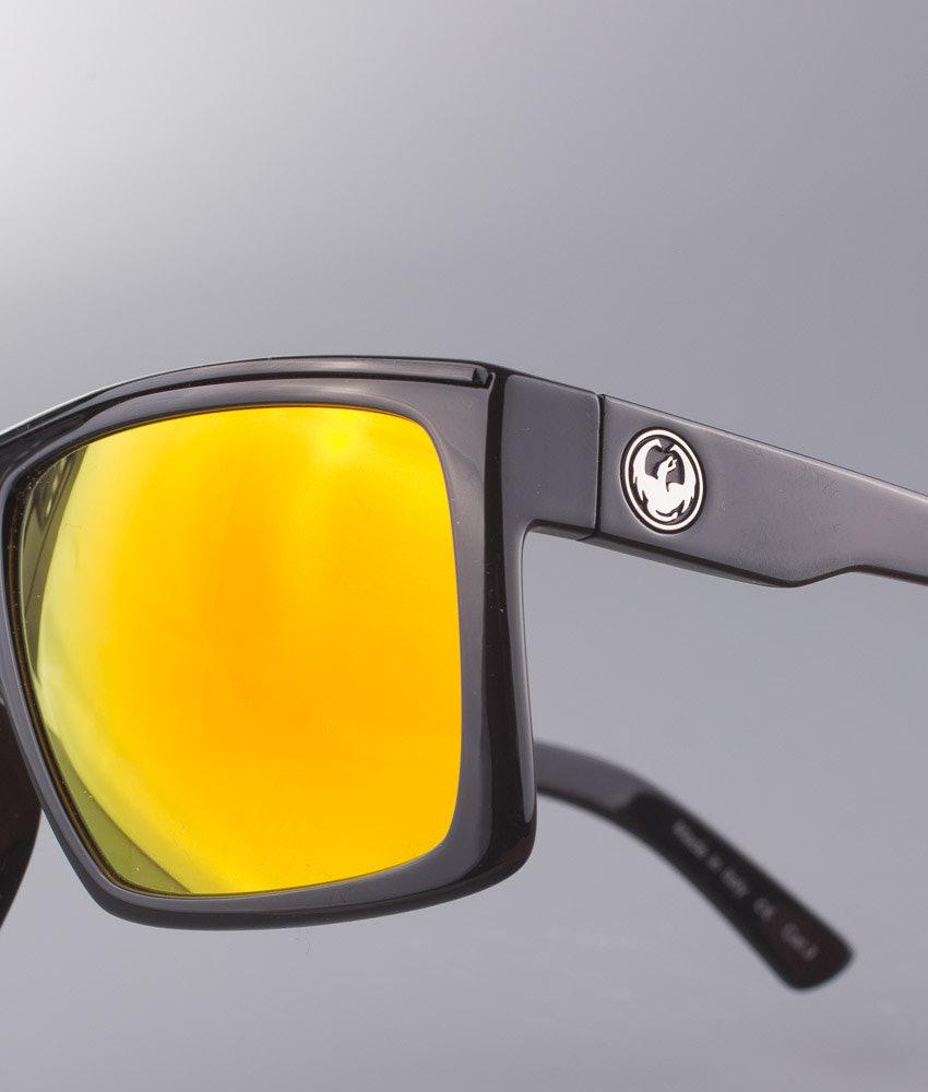 7b0e521fa8 Dragon Fame Sunglasses Jet W Red Ionized - Ridestore.com
