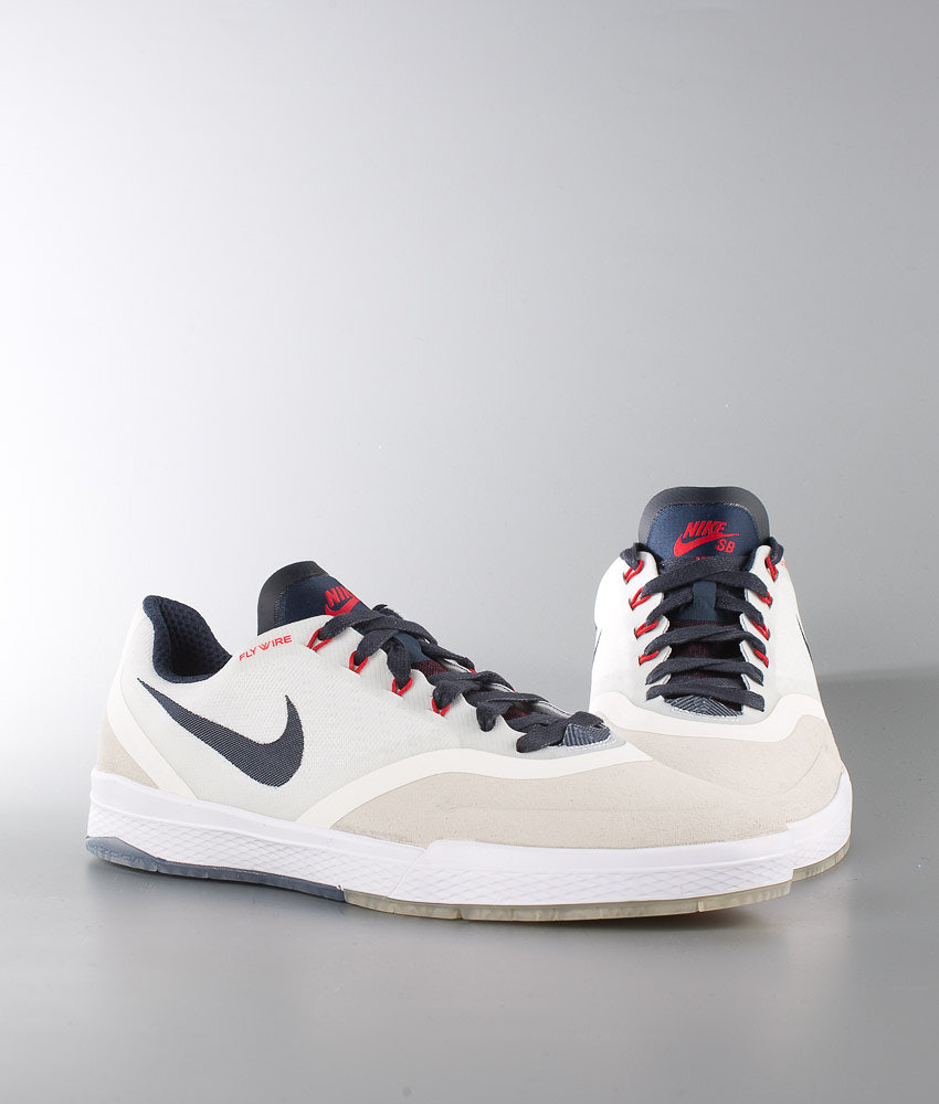 finest selection 4b470 2cd04 Nike Paul Rodriguez 9 Elite Shoes Summit White/Obsidian-Gum Light ...